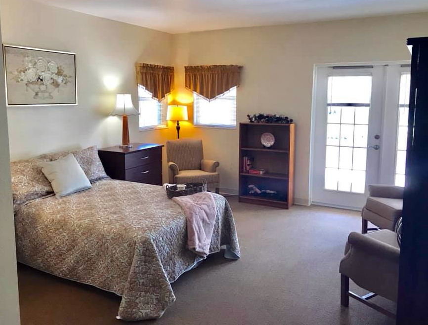 bedroom assisted living