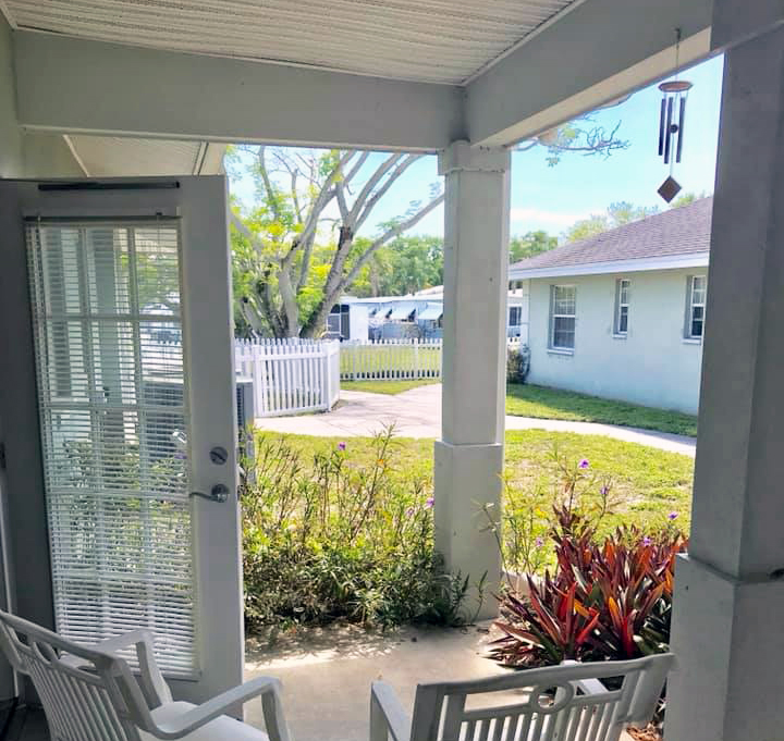 assisted living porch